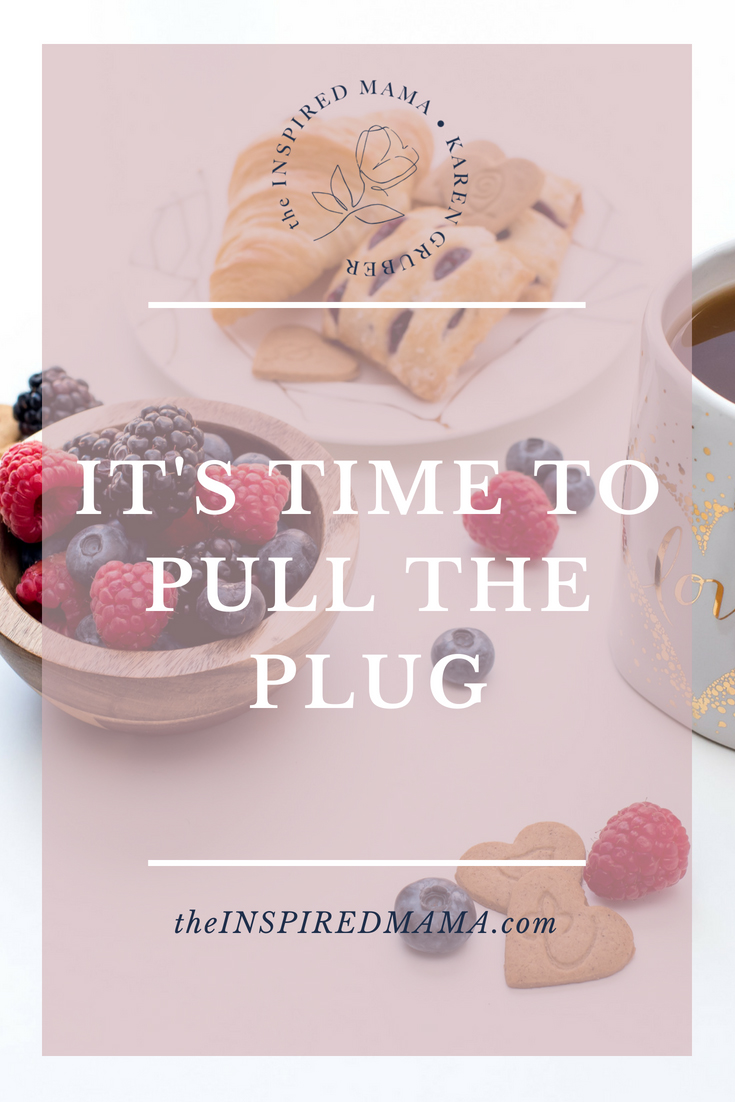 It's Time to Pull the Plug